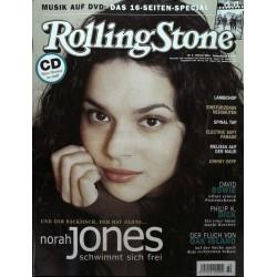 Rolling Stone Nr.2 / Februar 2004 & CD Vol. 63 - Norah Jones