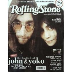 Rolling Stone Nr.1 / Januar 2004 & CD Vol. 31 - John & Yoko