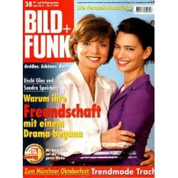 Bild und Funk Nr. 38 / 20 bis 26 Sep. 1997 - Uschi Glas & Sandra Speichert