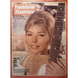 Frankfurter Illustrierte Nr.10 / 4 März 1961 - Vivi Bach