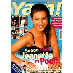 Yam! Nr.4 / 16 Januar 2002 - Jeanette im Pool!