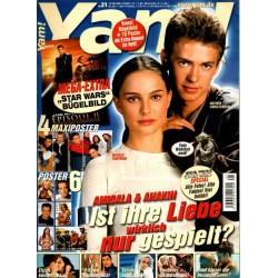 Yam! Nr.21 / 15 Mai 2002 - Amidala & Anakin