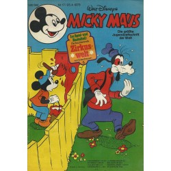 Micky Maus Nr. 17 / 25 April 1978 - Zirkuswelt