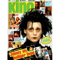 Kino (Heft 54) 3/91 März 1991 - Johnny Depp