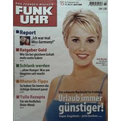 Funk-Uhr Nr. 15 / 15 bis 21 April 2000 - Josie Bissett