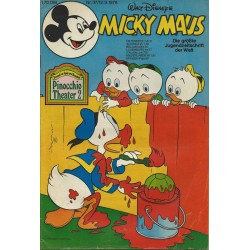 Micky Maus Nr. 37 / 12 Septembert 1978 - Pinocchio Theater 2