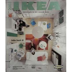 Ikea Katalog 2003 - Lebe hoch 3!