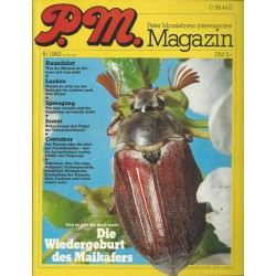 P.M. Ausgabe Juni 6/1983 - Die Wiedergeburt des Maikäfers