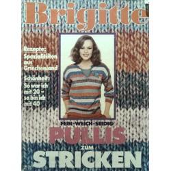 Brigitte Heft 10 / 3 Mai 1978 - Pullis zum Stricken