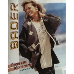 Bader - Herbst / Winter 1994/95 - Fröhliche Mode