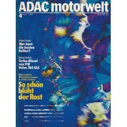 ADAC Motorwelt Heft.4 / April 1982 - So schön blüht der Rost