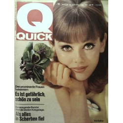 Quick Heft Nr.18 / 1 Mai 1966 - Ina Balke