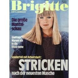 Brigitte Heft 19 / 7 September 1978 - Stricken