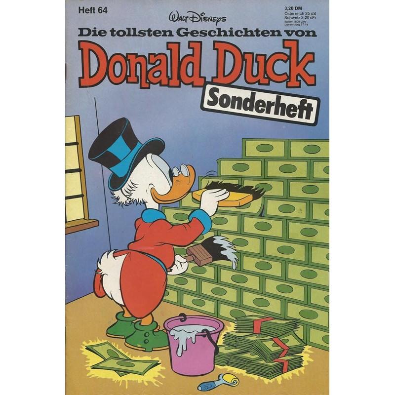 Donald Duck Sonderheft 64 von 1980 - Dagobert Duck tapezieren