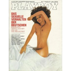 Playboy Nr.8 / August 1978 - Franziska Bär