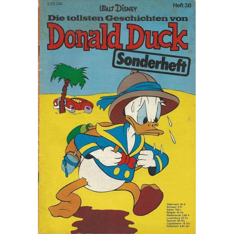 Donald Duck Sonderheft 38 von 1974 - Dagobert Duck Wüste