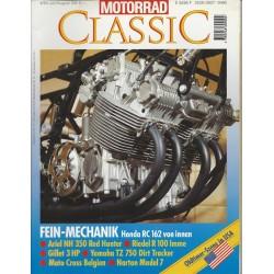 Motorrad Classic 4/94 - Juli/August 1994 - Fein-Mechanik Honda RC 162 von innen