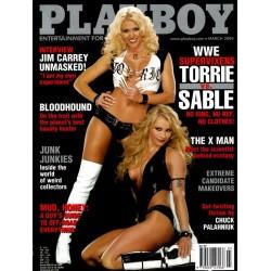 Playboy USA Nr.3 - März 2004 - Torrie vs. Sable