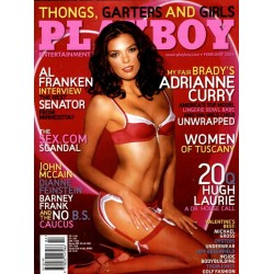 Playboy USA Nr.2 - Februar 2006 - Adrianne Curry