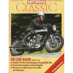 Motorrad Classic 4/93 - Juli/August 1993 - Die Cafe-Racer Triton & Co.