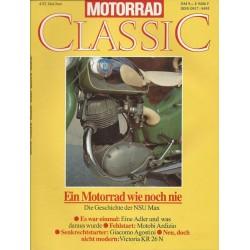 Motorrad Classic 4/92 - Mai/Juni 1992 - Die GEschichte der NSU Max