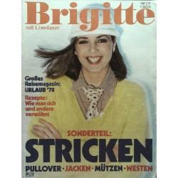 Brigitte Heft 3 / 26 Januar 1978 - Sonderteil Stricken
