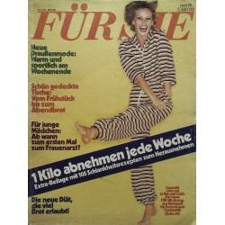 Für Sie Heft 20 / 16 September 1976 - Gestreift...