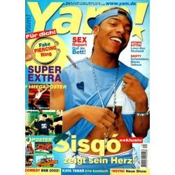 Yam! Nr.24 / 6 Juni 2001 - Sisqo exclusiv