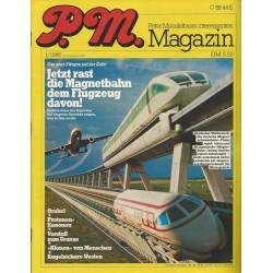 P.M. Ausgabe Januar 1/1986 - Jetzt rast die Magnetbahn dem Flugzeug davon!