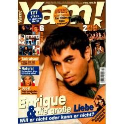 Yam! Nr.14 / 26 März 2002 - Enrique Iglesias