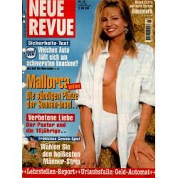 Neue Revue Nr.23 / 1 Juni 1995 - Mallorca intim