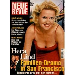 Neue Revue Nr.2 / 4 Januar 2001 - Hera Lind
