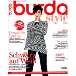 burda Moden 1/Januar 2014 - Kirsty MacPhail Schwarz auf Weiß