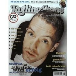 Rolling Stone Nr.8 / August 2003 & CD Vol. 60 - Chris Martin