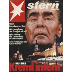 stern Heft Nr.47 / 18 November 1982 - Neue Serie Kreml intern
