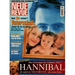 Neue Revue Nr.47 / 18 November 1999 - Vaterschaft