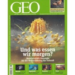 Geo Nr. 11 / November 2011 - Und was essen wir morgen?