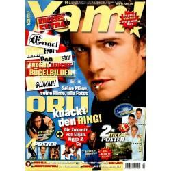 Yam! Nr.5 / 21 Januar 2004 - Orli knackt den Ring!