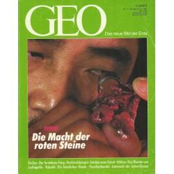 Geo Nr. 11 / November 1991 - Rubine, die Macht der roten Steine
