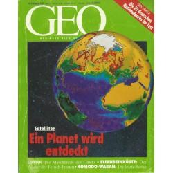 Geo Nr. 8 / August 1993 - Ein Planet wird entdeckt