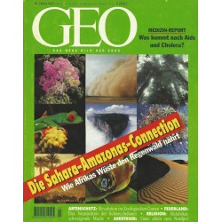 Geo Nr. 3 / März 1995 - Die Sahara Amazonas Connection