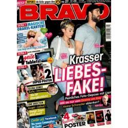BRAVO Nr.27 / 26 Juni 2013 - Krasser Liebes-Fake!