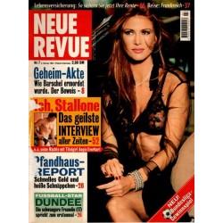 Neue Revue Nr.7 / 6 Februar 1997 - Angie Everhart