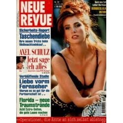 Neue Revue Nr.50 / 7 Dezember 1995 - Angie Everhart