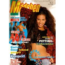 Mädchen Nr.5 / 23 Februar 1994 - Bauchfrei