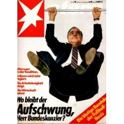 stern Heft Nr.36 / 1 September 1983 - Herr Bundeskanzler