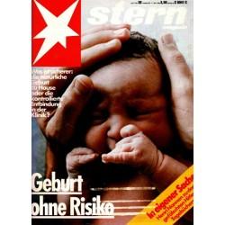 stern Heft Nr.20 / 11 Mai 1983 - Geburt ohne Risiko
