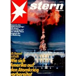 stern Heft Nr.14 / 30 März 1983 - US-Report enthüllt