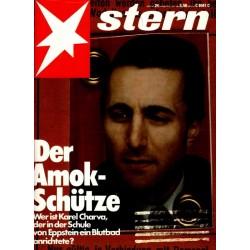 stern Heft Nr.24 / 9 Juni 1983 - Karel Charva
