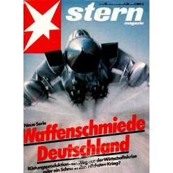 stern Heft Nr.43 / 20 Oktober 1983 - Waffenschmiede